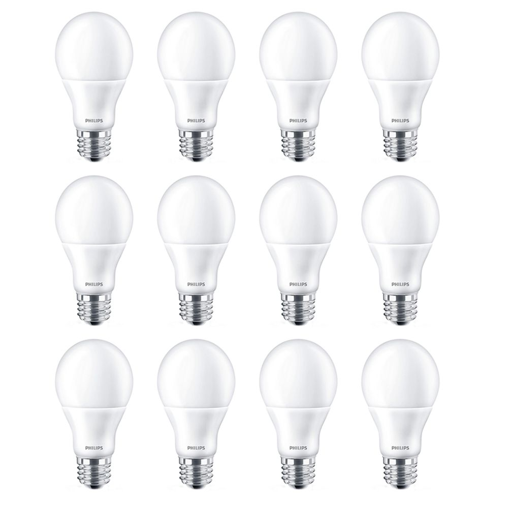 Philips Led 60w A19 Bright White (3000k) - Case Of 12 Bulbs - ENERGY STAR®