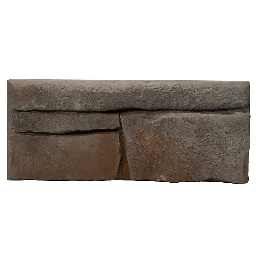 Great Lakes 5 sq. ft. Stone Veneer in Raven
