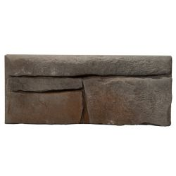 Fusion Stone Great Lakes 5 sq. ft. Stone Veneer in Raven