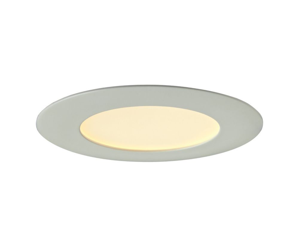 Recessed lighting the home depot canada 4 inch retrofit recessed round led panel white aloadofball Images