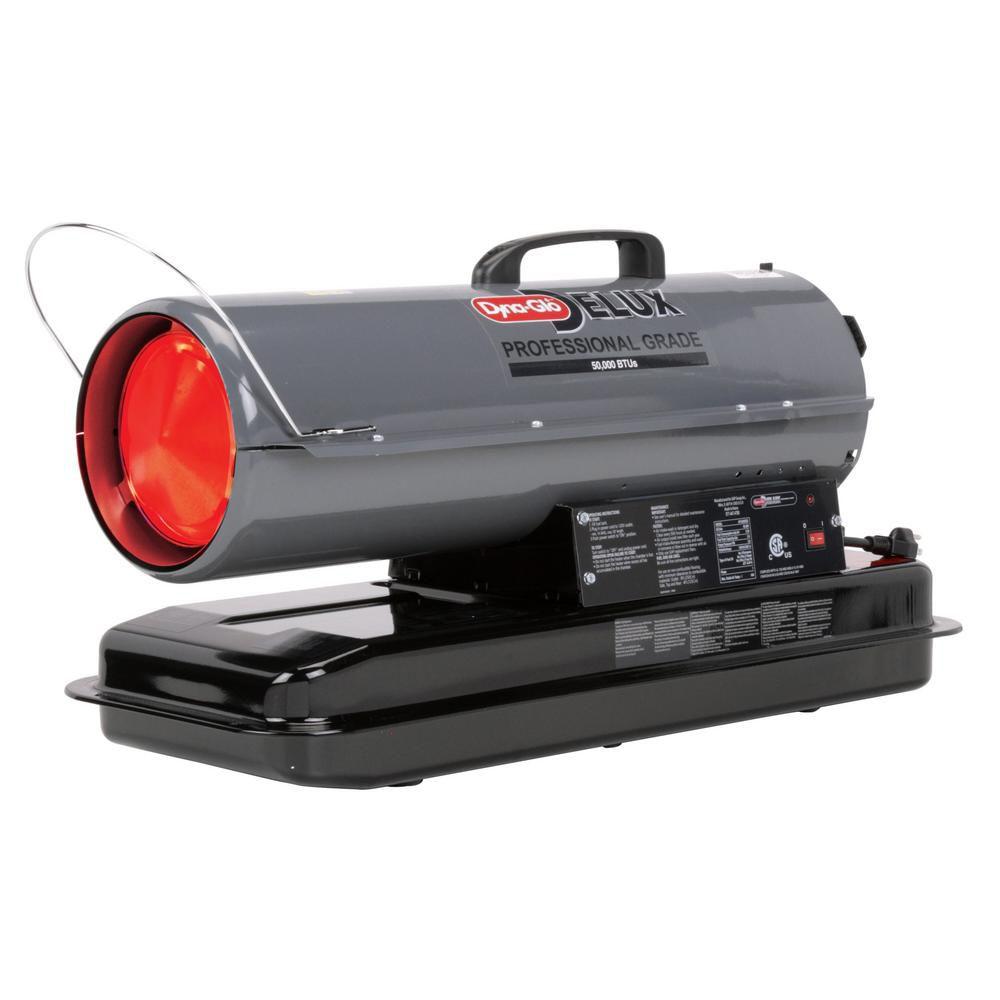 Dyna-Glo Delux KFA50DGD 50K BTU Kerosene Forced Air Heater