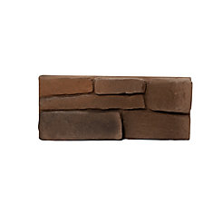 Placage de pierre Great Lakes - Brindle (petit emballage – 5 pieds carrés)