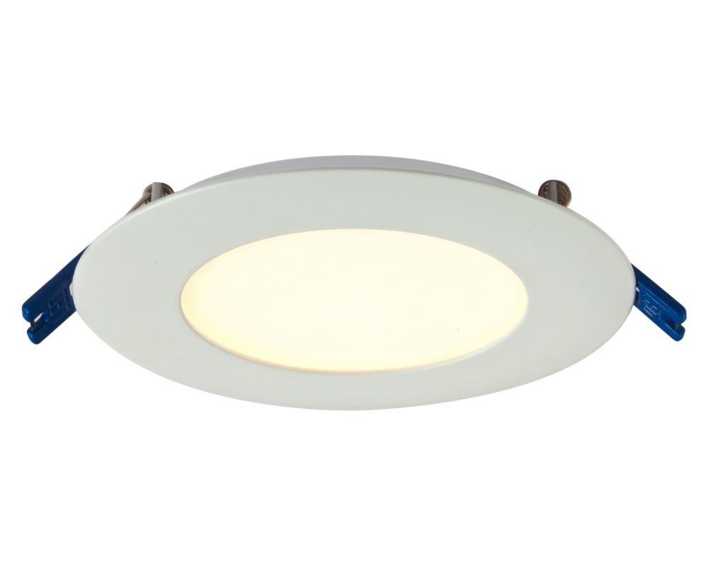 4 Inch Pro Series Recessed Round LED Panel White