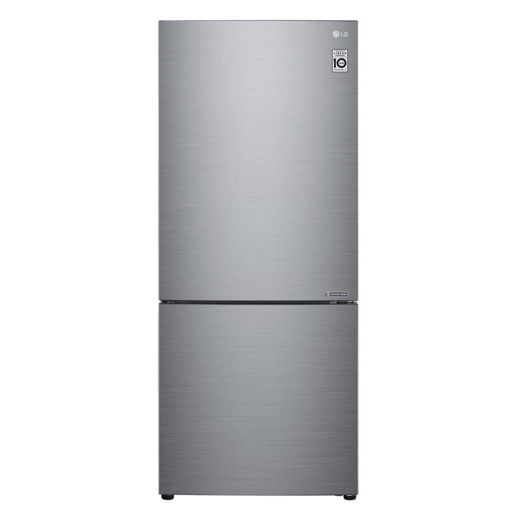 LG Electronics 22 cu. ft. Bottom Freezer Drawer Refrigerator with Inverter Linear Compressor in White - ENERGY STAR®