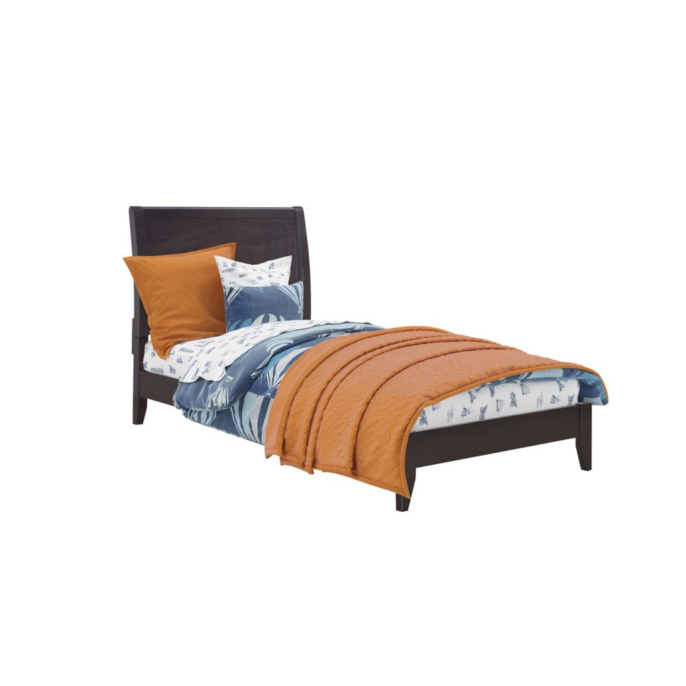 Ashland Twin/Single Bed In Dark Cappuccino