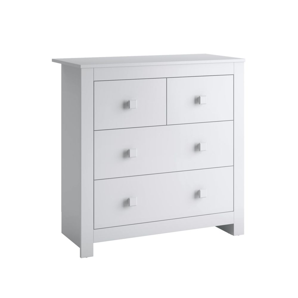 Madison Chest Of Drawers In Snow White