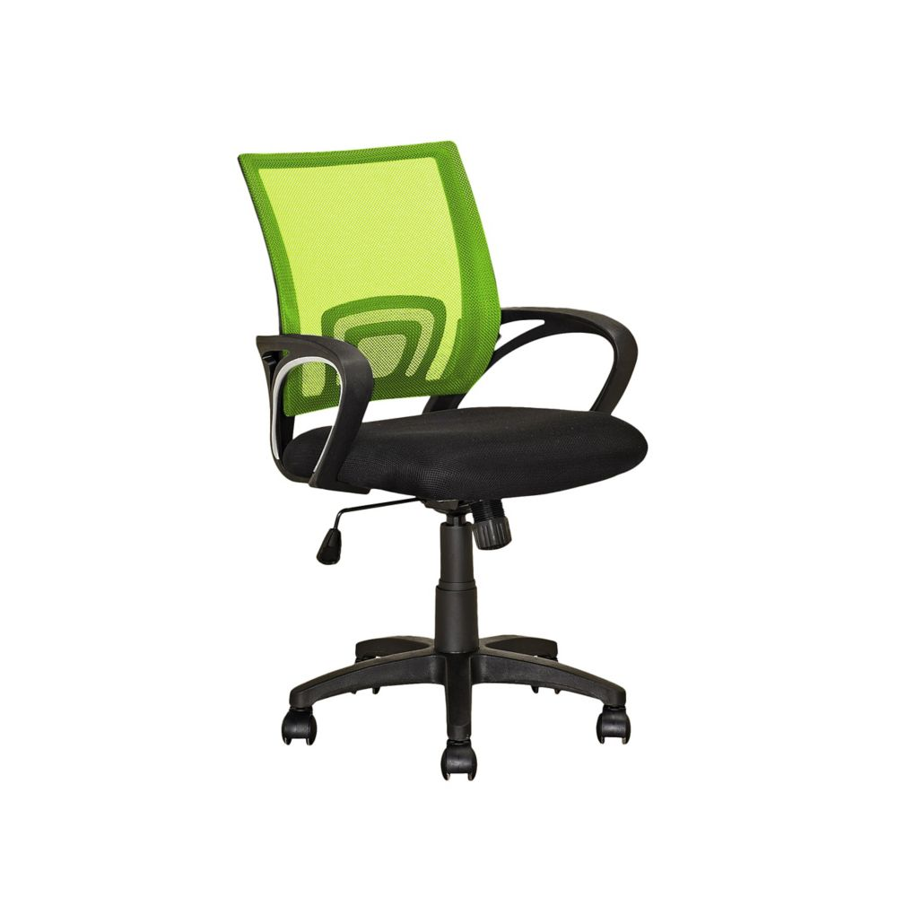 Corliving Workspace Lime Green Mesh Back Office Chair