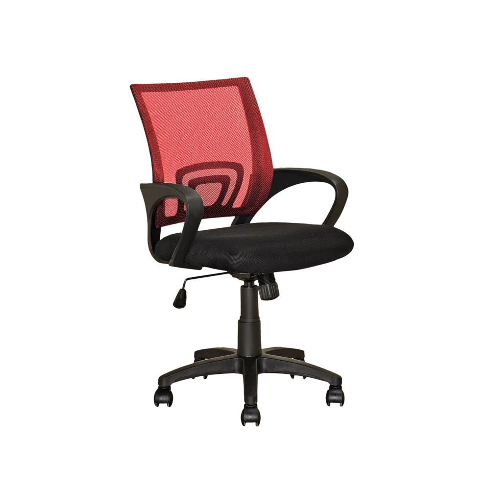 Workspace Red Mesh Back Office Chair