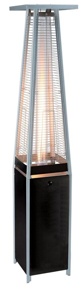40k BTU Black  Flame Propane Patio Heater