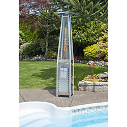 Paramount 40k BTU Flame Stainless Steel Propane Patio Heater