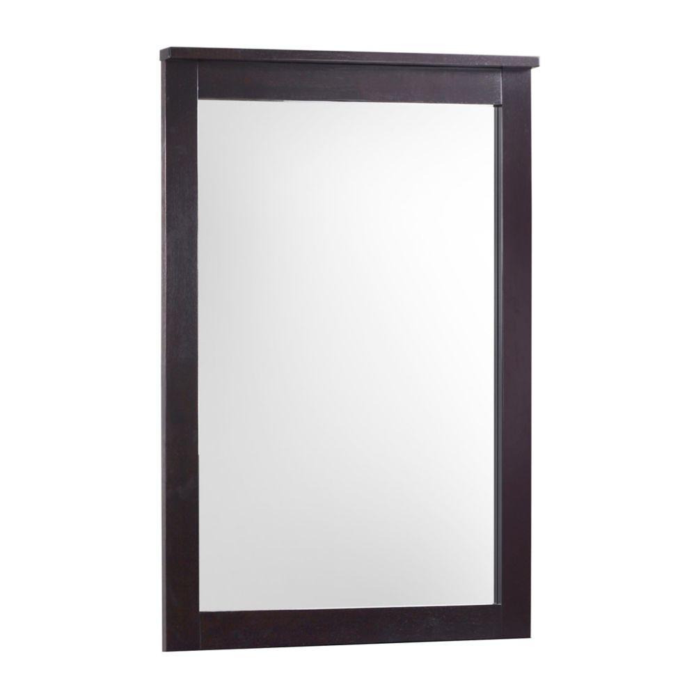 Ashland Dresser Mirror In Dark Cappuccino