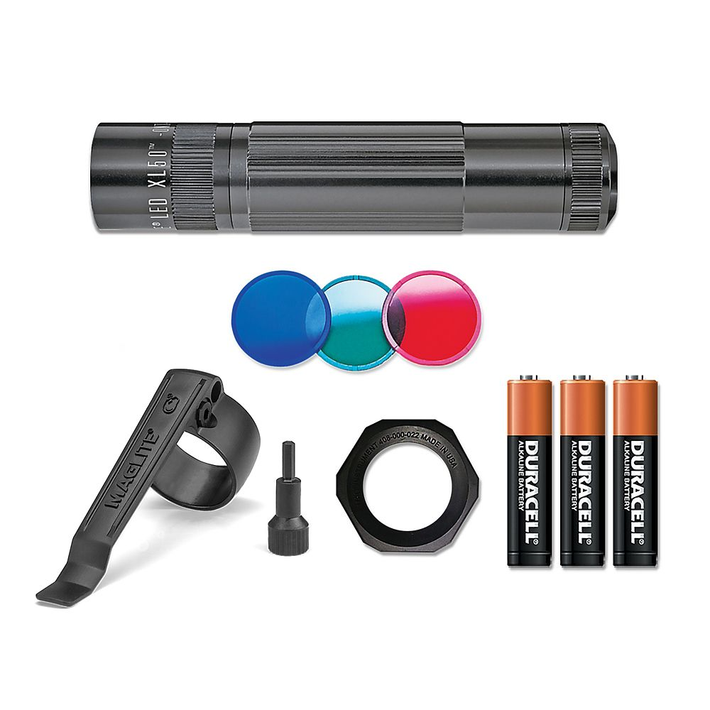 MAGLITE LED XL50 TCP, NOIR