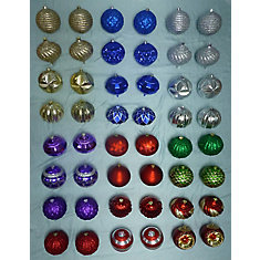 150mm Assorted Ornaments