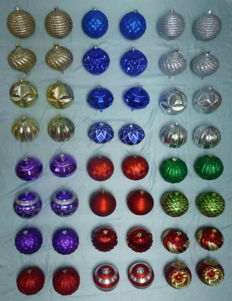 Home Accents Holiday 150mm Assorted Ornaments
