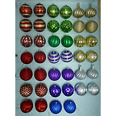 200mm Assorted Shatter-Proof Christmas Ornament