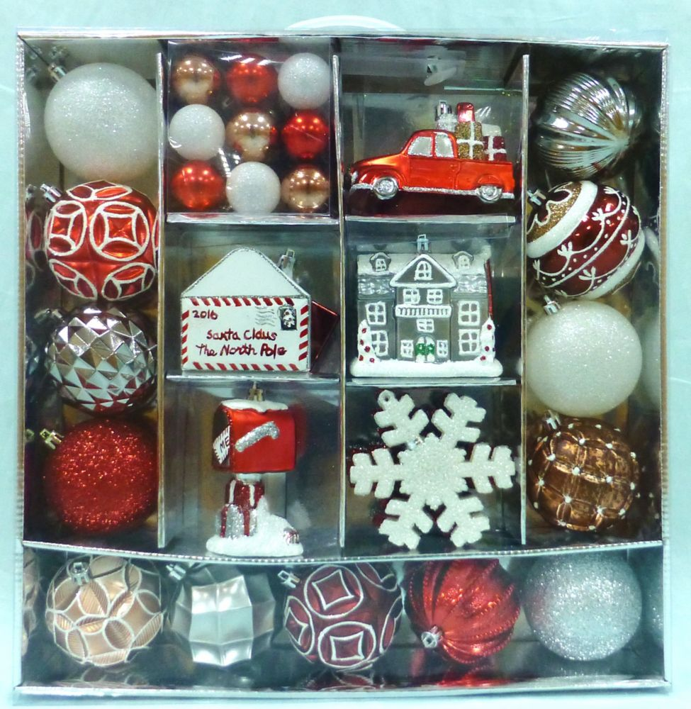 WT 51ct Suitcase Of Ornaments