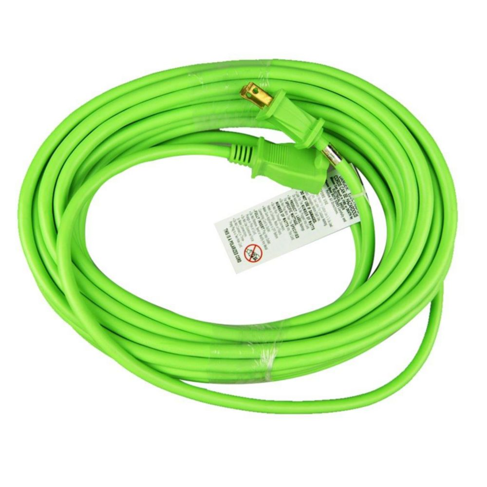 Extension Cords Surge Protectors The Home Depot Canada Wiring Cord Plug Hdx 50 Feet Indoor Outdoor