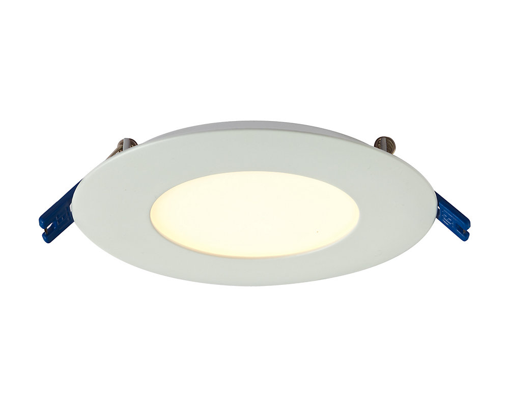 3 Inch Pro Series Recessed Round LED Panel White - ENERGY STAR®