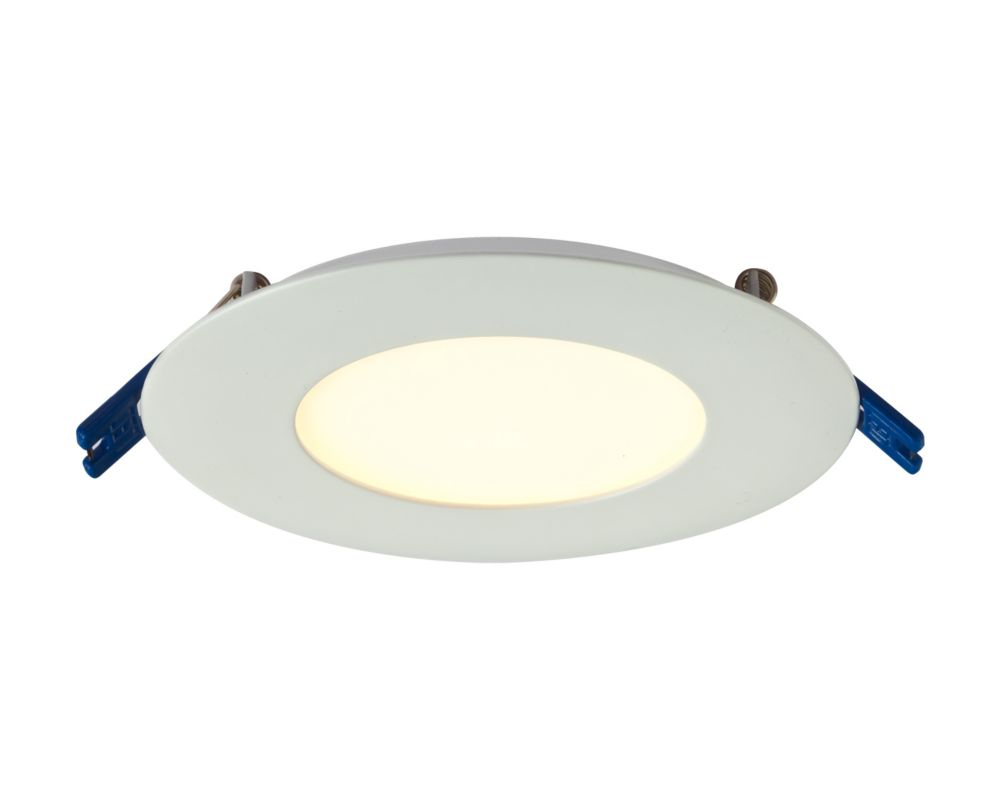 3 Inch Pro Series Recessed Round LED Panel White