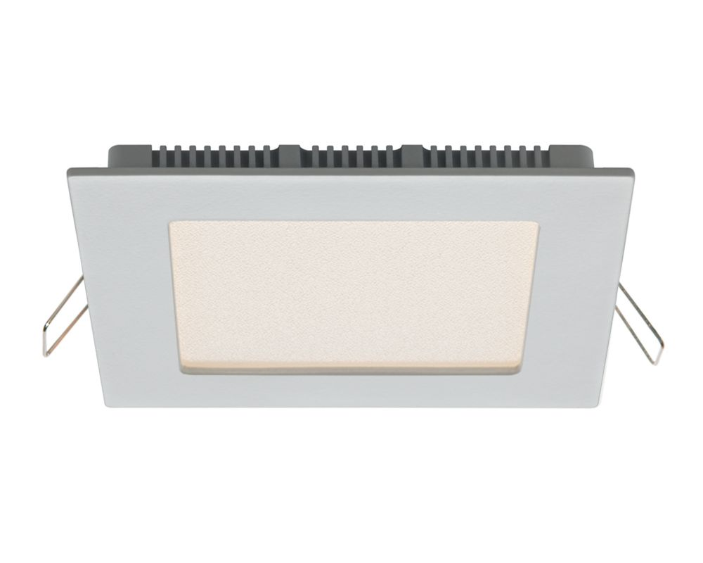 6 Inch Ultraslim Recessed Square LED Panel White