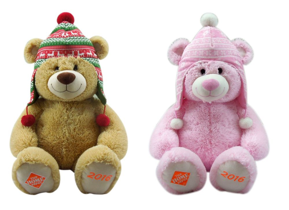 Small Plush Bear Home Depot 2016