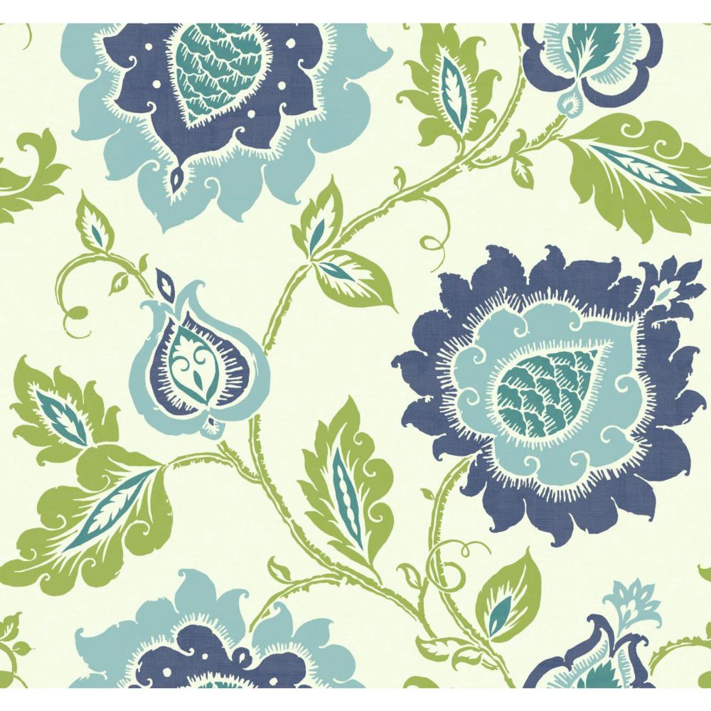 Carey Lind Vibe Jaco Floral Wallpaper