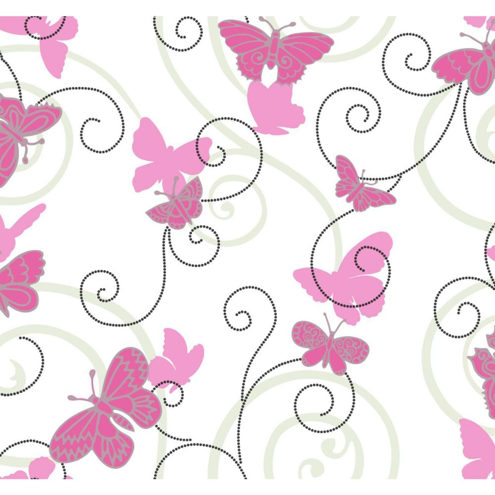 Room To Grow Butterfly Wallpaper