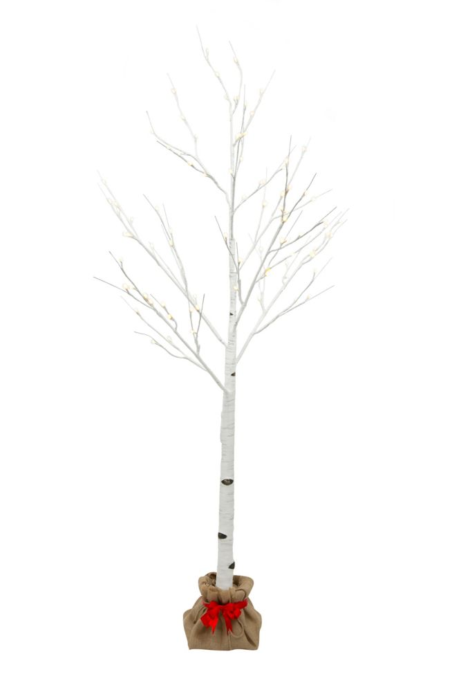 5 Feet LED Birch Tree