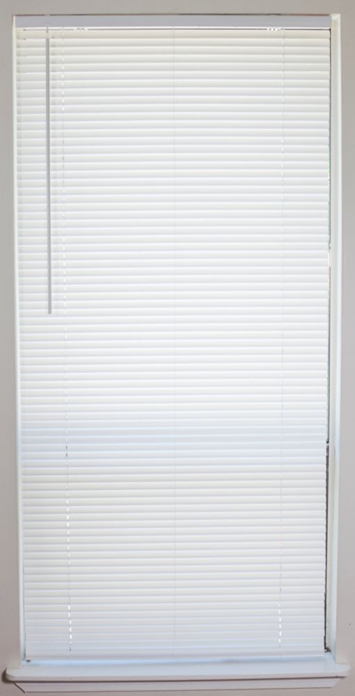 Home Decorators Collection 72x64 White 2 Inch Faux Wood Blind Actual Width 71 5 Inch The