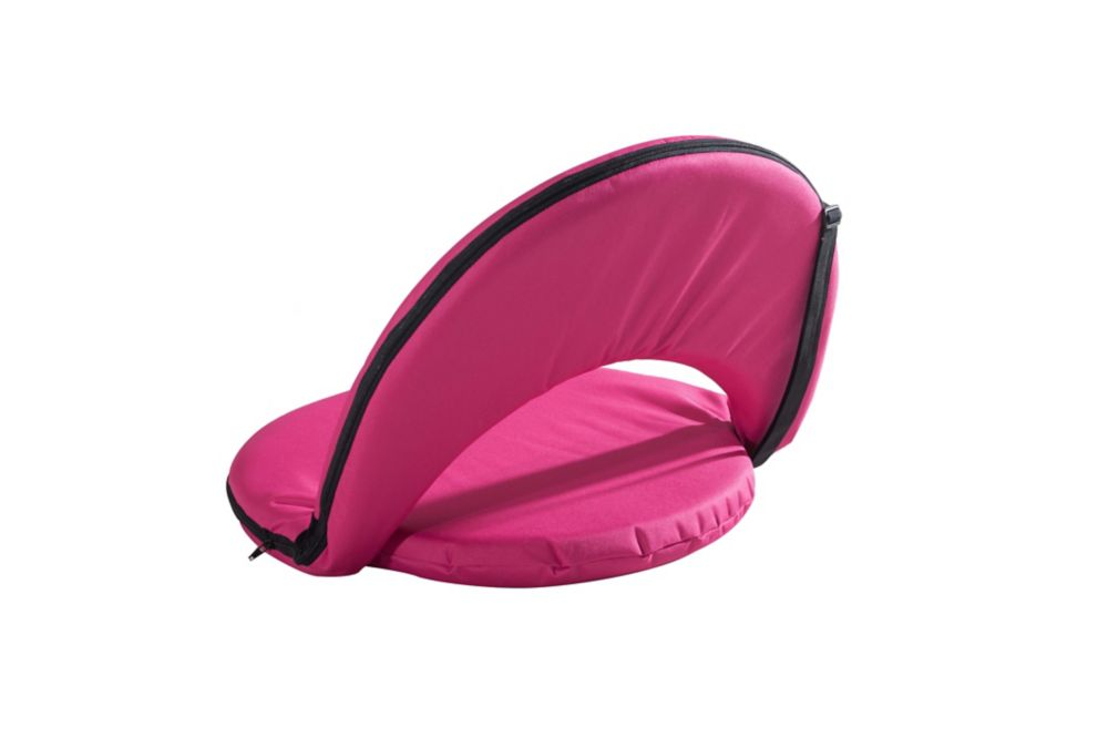 Adjustable Lounge Chair in Fuchsia