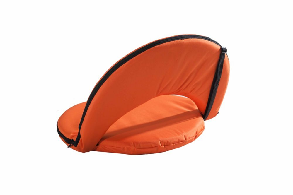 Adjustable Lounge Chair in Orange