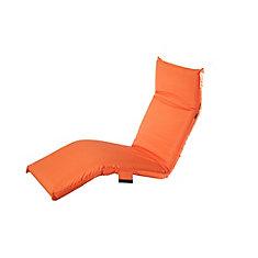 Lounge Chair réglable à Orange