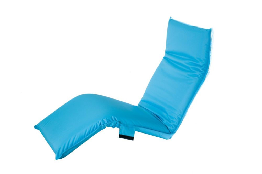 Adjustable Lounge Chair in Turquoise