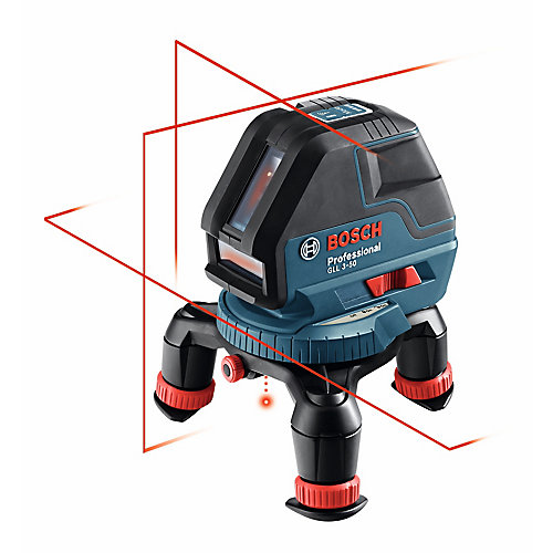 360 Three-Plane Leveling and Alignment-Line Laser with Four AA batteries