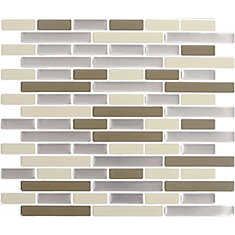 DESERT SAND  Peel and Stick-It Tile 11 X 9.25 Inch Value 4 PACK