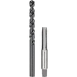 DEWALT 5/16 inch Black Oxide Drill and 3/8 inch. x 16 NC Steel Tap Set