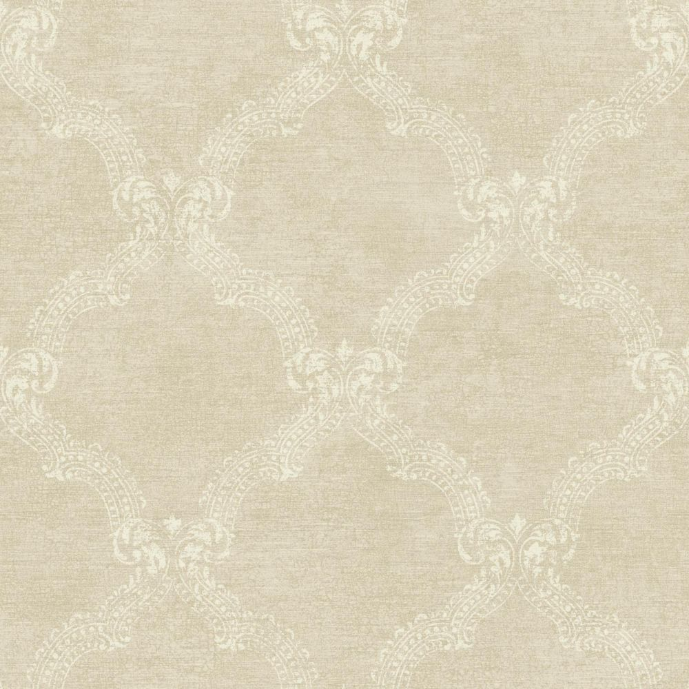 Sapphire Oasis Frame Wallpaper