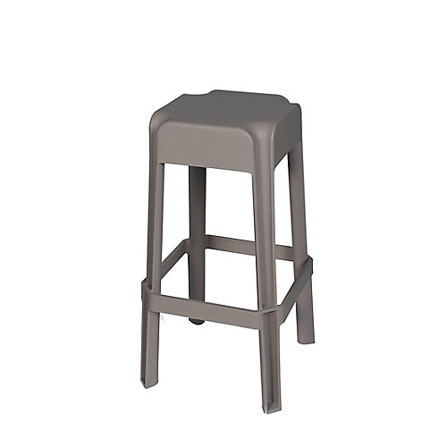 2-Piece Patio Stool in Taupe