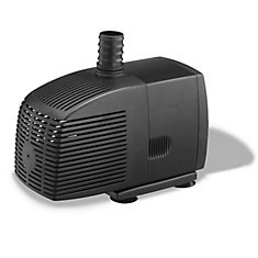 850GPH Pond Pump for Water Gardening and Water Features
