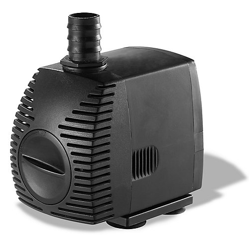 500GPH Pond Pump for Water Gardening and Water Features