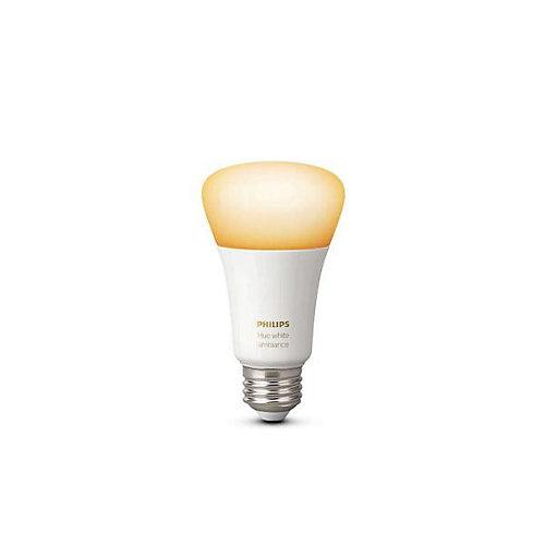 Système déclairage sans fil personnel Philips Hue DEL A19 Ambiance blanche - extension ampoule.- ENERGY STAR®