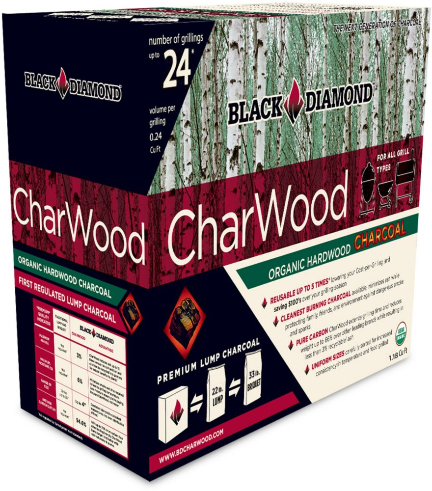 Black Diamond Medium Box Organic Charwood