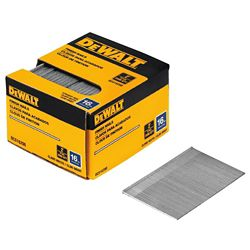 DEWALT 2-inch 16-Gauge Straight Finish Nails (2500 per Box)