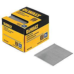 DEWALT 2-1/2-inch 16-Gauge Straight Finish Nails (2500 per Box)