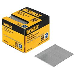 DEWALT 2-1/2-inch 16-Gauge Straight Finish Nails (2500 per Box)