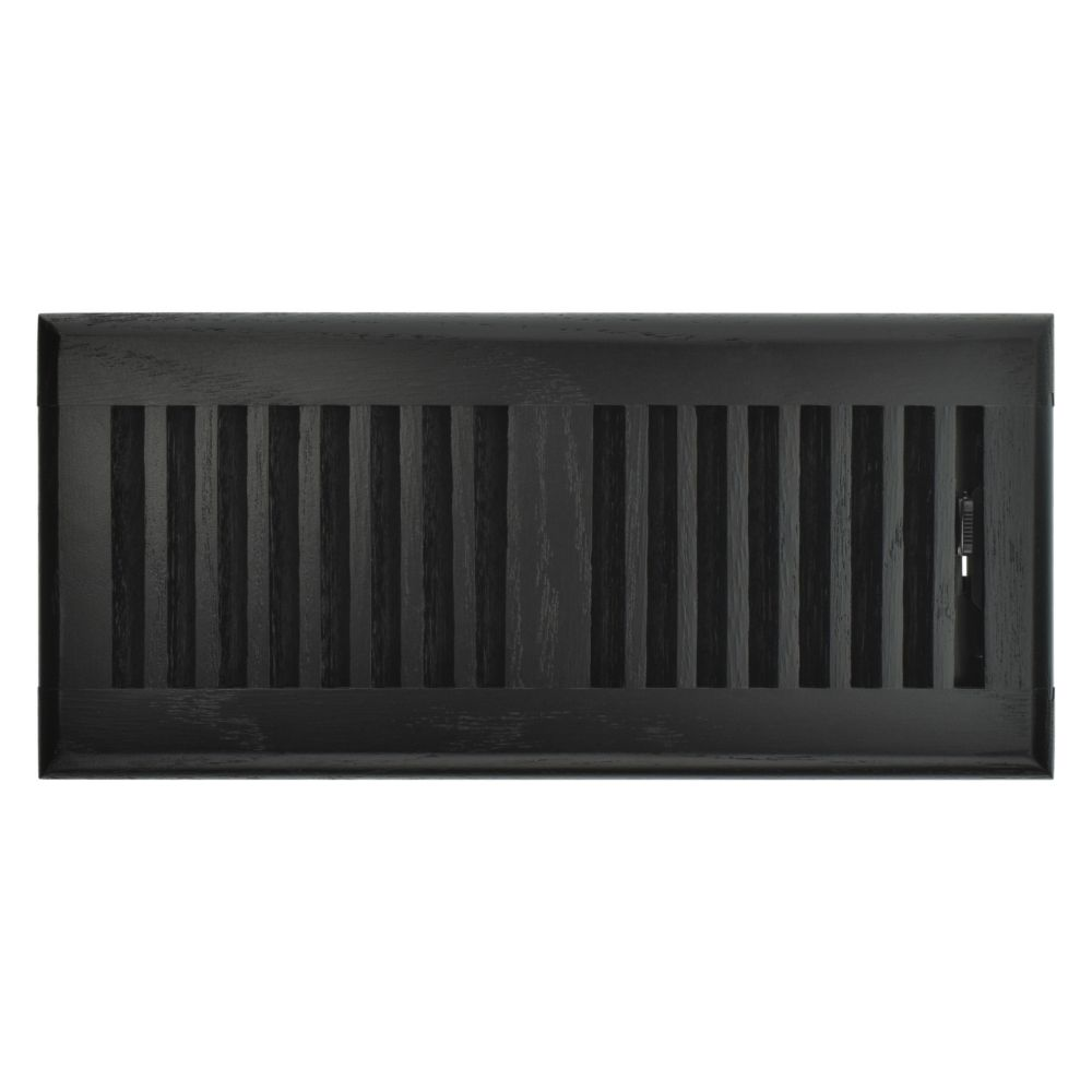Hampton Bay 4 inch x 10 inch Floor Register - Black Oak