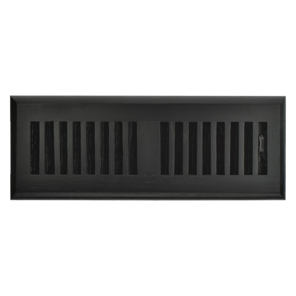 Hampton Bay 3 inch x 10 inch Floor Register - Black Oak