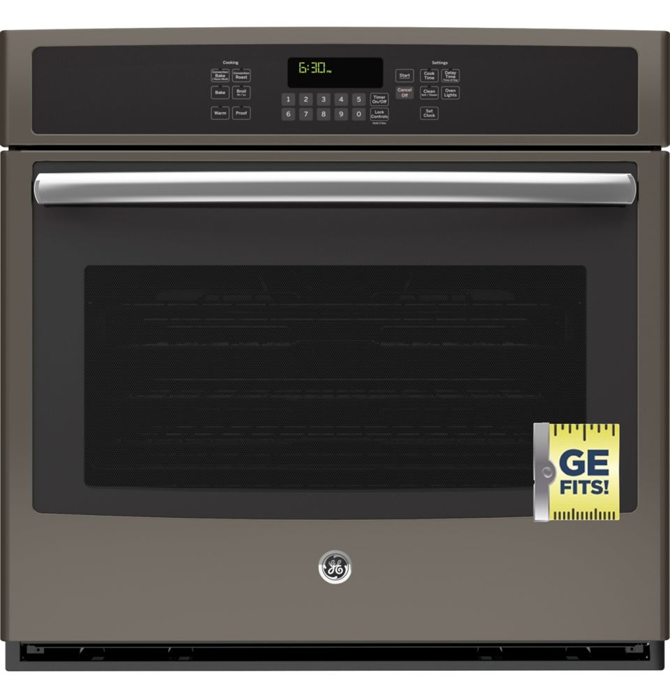 """GE 30"""" ELECTRIC CONVECTION SELF-CLEANING SINGLE WALL OVEN"""