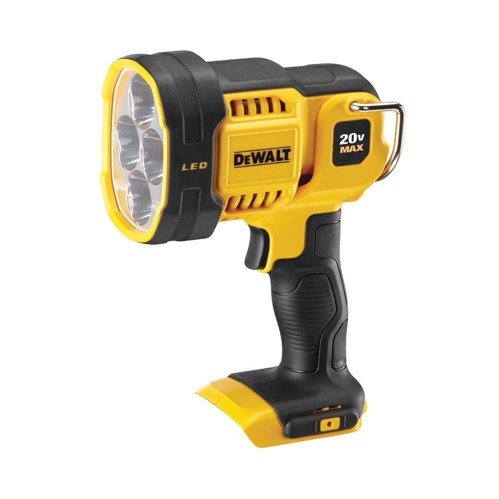 DEWALT 20V MAX Li-Ion Cordless Jobsite Spotlight (Tool-Only)