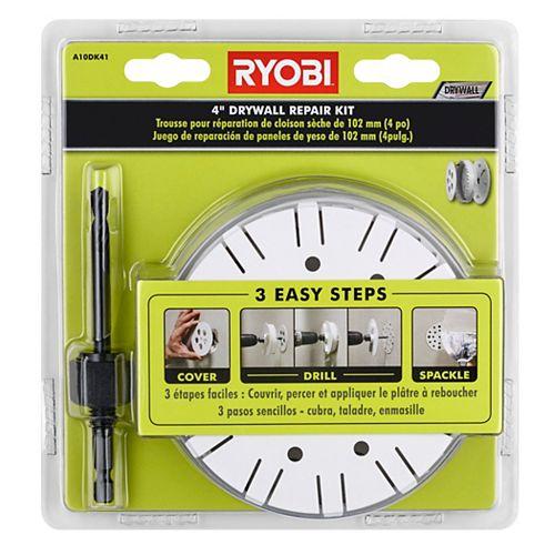 RYOBI 4-inch Drywall Repair Kit